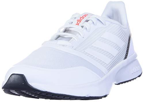 adidas Nova Flow, Zapatillas Deportivas. Hombre, FTWR-FTWR Color Blanco y Gris, 43...
