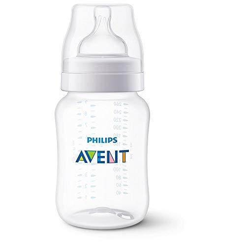 Mamadeira Anti-colic Transparente 260ml, Philips Avent, Transparente, 260 Ml