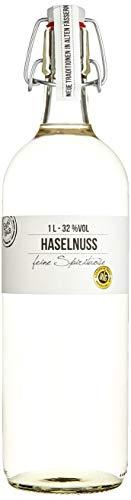 BIRKENHOF Brennerei | Haselnuss - feine Spirituose aus gerösteten Haselnüssen | (1 x 1l ) - 32 % vol.