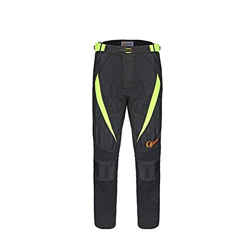 JIAOJIAO Giacche moto impermeabili Pantaloni motocross traspiranti Motos Abbigliamento moto Pantaloni Tute primaverili estive-Pantaloni invernali_Xxl