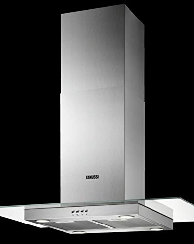 Zanussi ZHS92650XA Isla Acero inoxidable 600m³/h C - Campana (600 m³/h, Canalizado/Recirculación, D, A, B, 67 dB)