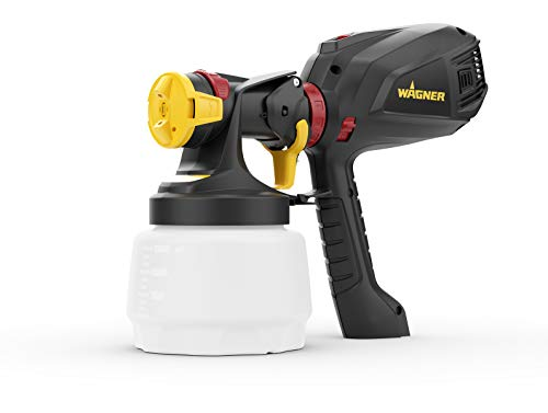 Photo of Wagner 2397329 Universal 575 FLEXiO Electric Sprayer for Wall & Ceiling/Wood & Metal Paint-Interior and Exterior Usage, Covers 15 m²-6 min, Capacity 1300 ml/800 ml, 630 W, Black