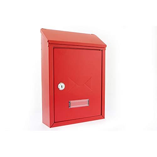 G2 Trading Company 005 acero buzón Avon - rojo