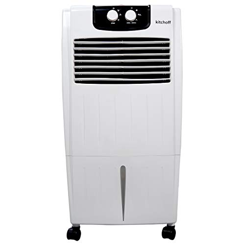 KITCHOFF Air Cooler with 35 Feet Air Throw, 25ltr. Water...