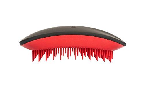 Tangle Mouse Special Edition Professional Brosse à cheveux démêlante Noir Rouge