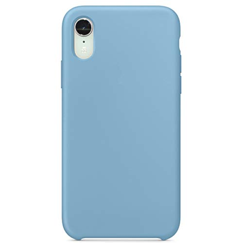 Maycase Compatible for iPhone XR Case, Liquid Silicone Case Compatible with iPhone XR 6.1 inch (Cornflower)