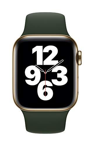 Apple Watch (40mm) Sportarmband, Zyperngrün - Regular