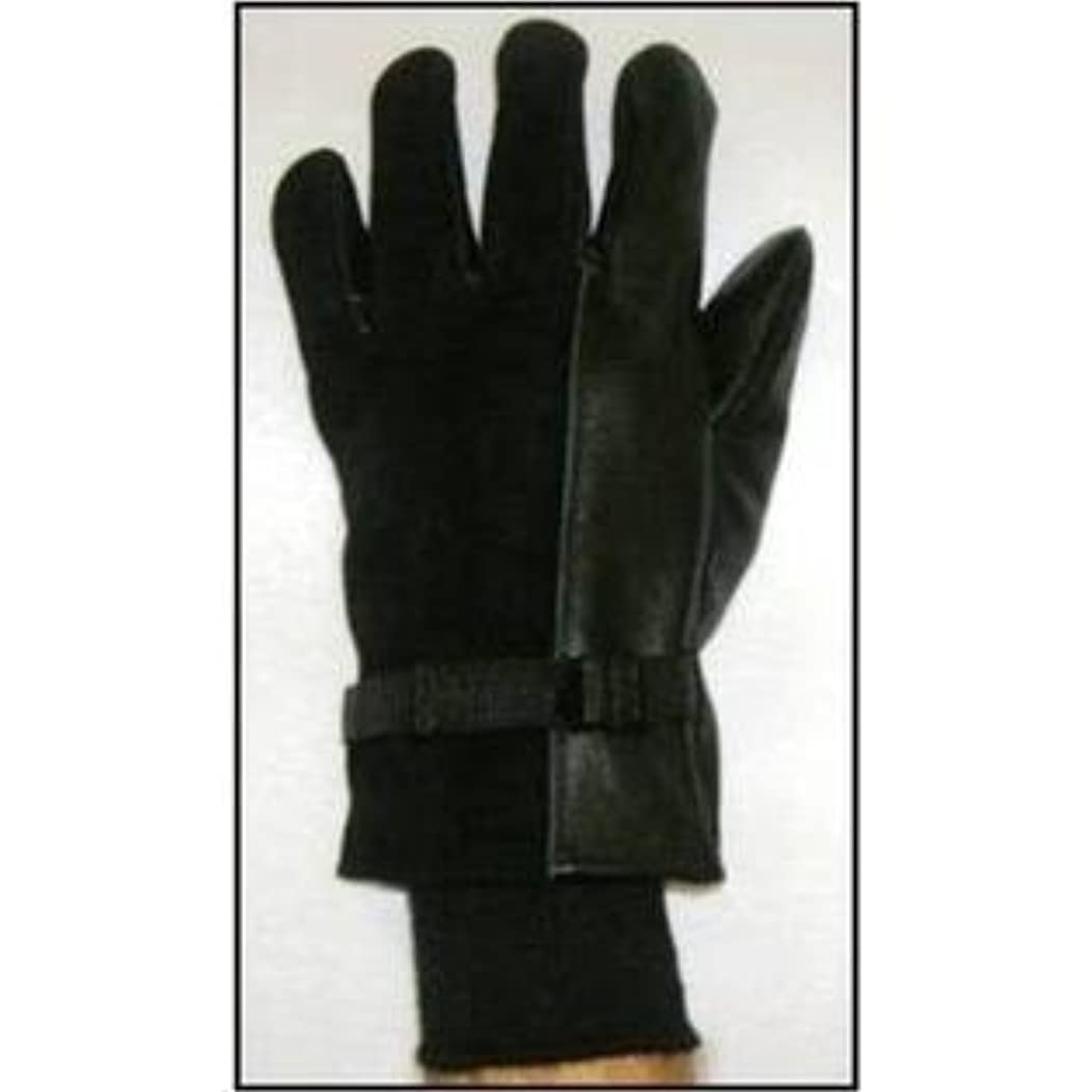 Endurant Premium Grade Military Design (D3) Leather Gloves with Black Wool / Nylon Liners, Men's (6)