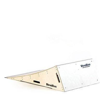 ShredBox Launcher 300 | DIY KIT | Skatepark Qualität | Launch Ramp | SkateRamp | Jumpramp | Schanze | Für Skateboard, BMX, Scooter | Dein privater Skatepark