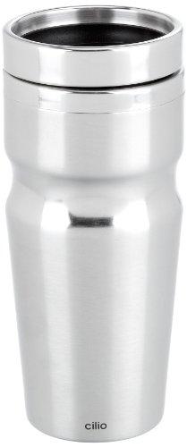 Cilio 541519 Auto-Thermobecher Futura, grau
