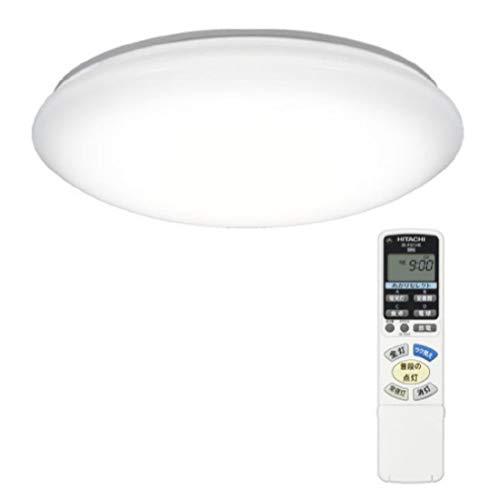 【Amazon.co.jp限定】日立 LED シーリングライト 連続調色・連続調光 ~8畳 本体日本製 [ラク見え]搭載 畳数基準値最大限の明るさ LEC-AHR800UAZ