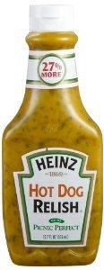 Heinz Hot Dog Relish 12.7 Fl. Oz. (2 Pack)