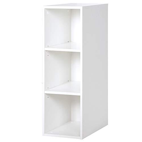roba Seitenregal 'Mia', passend unter Wickelkommode 'Mia', für Babyzimmer & Kinderzimmer, weiß, Holz