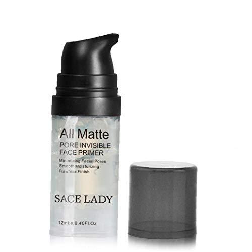 Hiinice Fundación 1PC MaquillajePrimer Matificantes Minimizadora Poros Primer Arrugas y Suavizar Las líneas Finas Face Primer Maquillaje Gel de Aceite de Control de Cuidado de la Piel