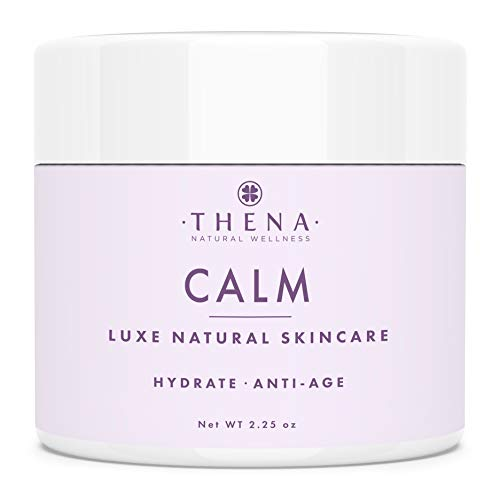 THENA CALM Face Moisturizer Cream Organic & Natural Skin Care, Ultra...