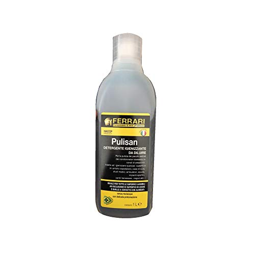 Trattamento Igienizzante E Detergente Completo Climatizzatori Certificato HACCP Pulisan Ferrari 1L Diluibile