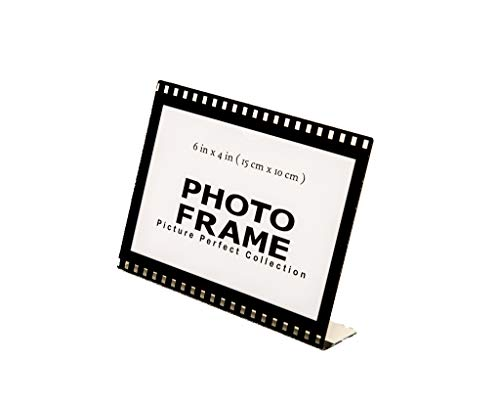 Photo Booth Frames - 6x4 Clear Acrylic Picture Frame Film Style Hollywood Frame Sign Holder Horizontal Picture Frame (12 Pack)