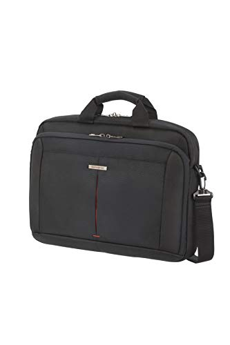 Samsonite Borsa Porta Pc Guard It 2.0, 15.6', Nero Borsa Messenger, 40 cm, Nero