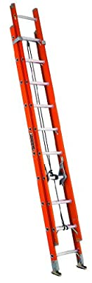 Louisville Ladder FE3232 Extension Ladder, 32 Feet, Orange