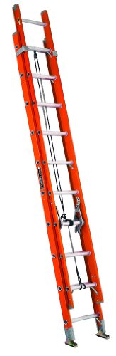 Louisville Ladder FE3232 Extension Ladder, 32 Feet, Orange