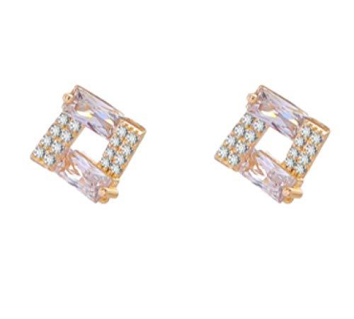 High-End-Ohrringe Französische Netto-Promi-Tanz-Nischen-Design-Ohrringe weibliche einfache und kleine Persönlichkeitsohrringe