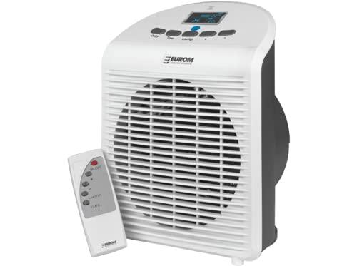 Eurom Elektro Heizlüfter Heizgerät Safe-T-Fanheater LCD 2000 Watt