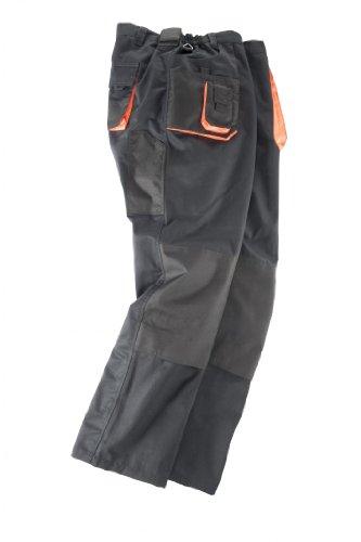 Abraxas Arbeitshose in großen Größen, schwarz, Größe:7XL