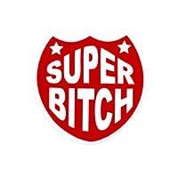 No,170 SUPER BITCH US170 輸入 アメリカン雑貨 ステッカー バイク、車、自転車に!
