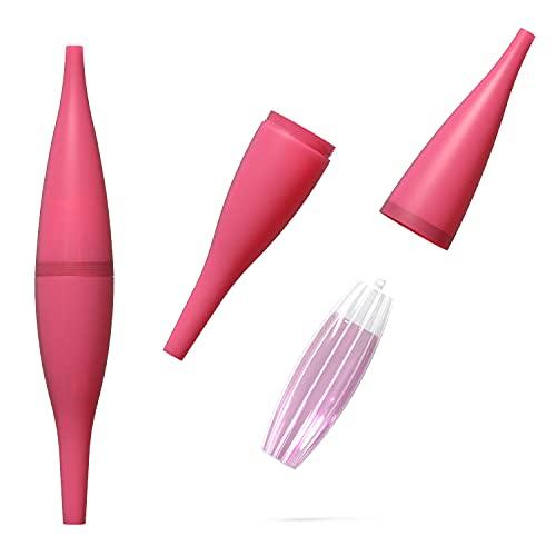 AO® Shisha Ice Bazooka 2.0 I Shisha EIS-Mundstück passend für alle üblichen Silikonschläuche I Hochwertiges EIS Bazooka Set mit Kühlakku I Shisha Zubehör I Eisschlauch Shisha Rosa