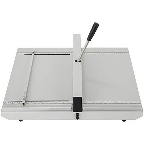VEVOR Máquina Plegadora de Papel con Puntaje Manual de 50,8 x 59,7 x 14 cm, Plegadora de Papel Manual de 480 mm, Creasing Machine Tool con Reglas de Posicionamiento para Archivos, Mapas, Papeles A4