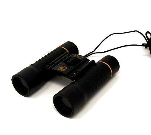 Discovery Adventures Jumelles compactes avec Pochette télescope Pliable étanche pour Enfants/Adultes/extérieur Oiseau/Voyage/Tourisme/Chasse/Observation des Oiseaux