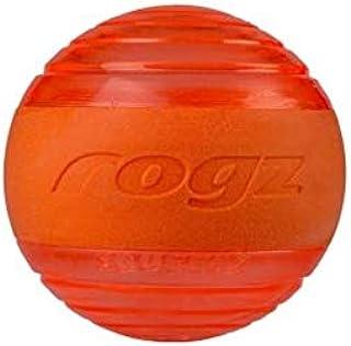 Rogz Squeekz Ball Orange