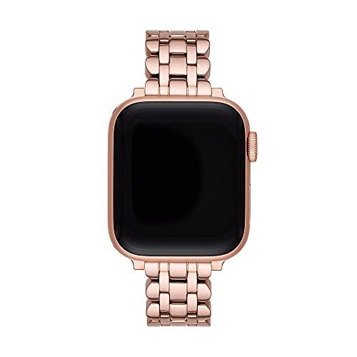 Kate Spade New York - iOS Straps Uhr mit roségoldenem Edelstahlarmband für Damen KSS0067