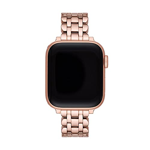 Kate Spade New York - iOS Straps Watch with Rose Gold Stainless Steel Strap for Women KSS0067
