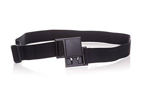 Modaxx Sport-Gürtel Stretchgürtel Outdoor Damen Herren Schwarz Unisex Elastisch Größenverstellbar Magnetverschluss Made In Germany