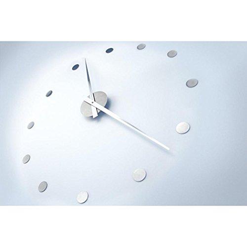 Radius Design - große Wanduhr, Uhr - Edelstahl - puristisch und Zeitlos