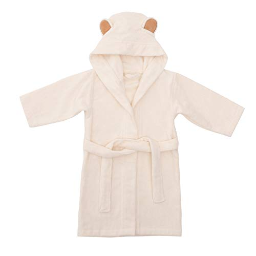 Natemia Ultra Soft Hooded Pool Cover-Up for Babies and Toddlers - Highly Absorbent Rayon from Bamboo Baby Beach Towel Cover-Up