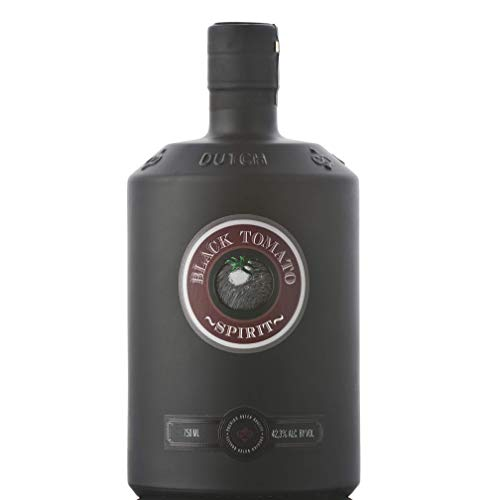 Black Tomato Spirit - Distilled Spirit with Fresh Salt & Oosterschelde Water, Product of Netherlands, 42.3% vol. 750 ml