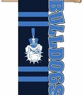 Citadel Bulldog Sculpted Applique Flag