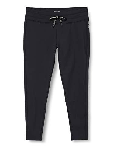 ESPRIT Sports Damen +Tight Edry sl Sporthose, Schwarz (Black 001), 36(Herstellergröße: 44)