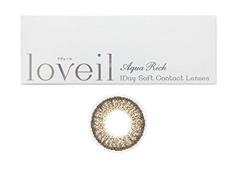 loveil( ラヴェール )【ブラウンミラージュ 】 30枚入 度なし【PWR】±0.00