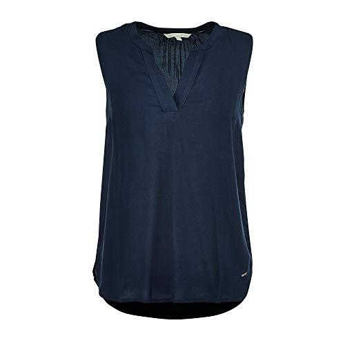 TOM TAILOR Denim Damen Top Tunika-Shirt, 10360-Real Navy Blue, S