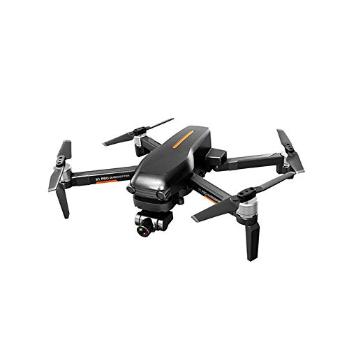ZAKRLYB Cámara aérea Drone, aeronave de control remoto aéreo de 4K HD, Drone aéreo plegable de GPS, Aviones de control remoto autónomas de tres ejes, comunicación para padres e hijos, Entrenamiento de