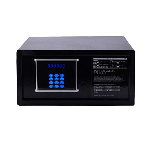 Kluis veiligheid elektronische blokkering lcd display digitaal toetsenbord sleutelsafe 43,5 * 37 * 20 cm meubelkluis