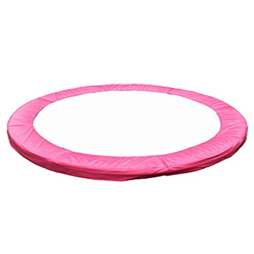 greenbay 8ft replacement trampoline surround pad foam safety guard spring cover padding pads pink