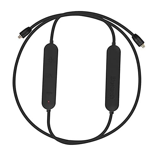 Blesiya Módulo Bluetooth 4,2 EDR Cable inalámbrico de actualización para Auriculares KZ, IPX5 Impermeable, Desmontable - C párrafo Pin