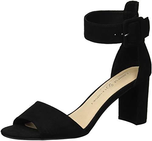 Chinese Laundry Rumor Sandales à talons pour femme - Noir - Aspect cuir velours noir, 7.5 M EU