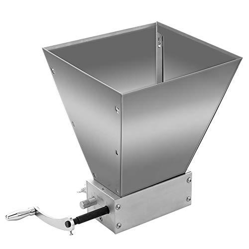 Baugger Molino de granos integrales - Procesadores de alimentos Máquina de polvo manual grande extrafina Molino de alimentos de maíz de malta de acero inoxidable