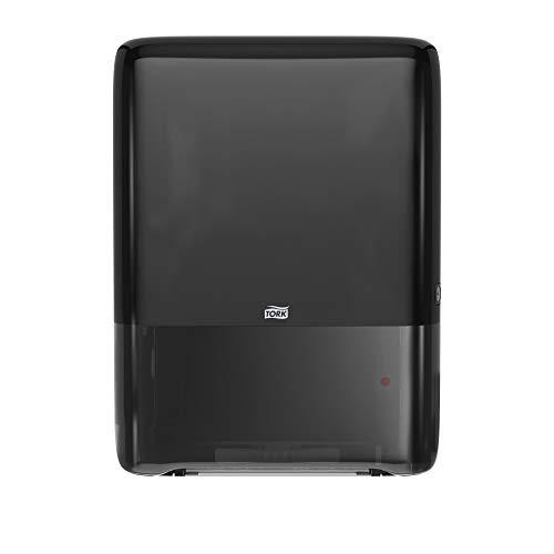Tork PeakServe - Mini dispensador para toallas de papel Endlos en negro, H5, alta capacidad, diseño Elevation 552558