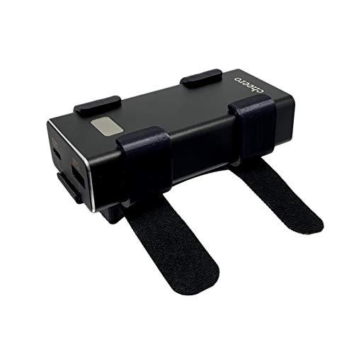 cheero オキュラス クエスト 2 用 バッテリーキット バックヘッドスタイル (10000mAh) モバイルバッテリー付き 後ろ付けホルダー Oculus Quest CHE-101-OC25-BK